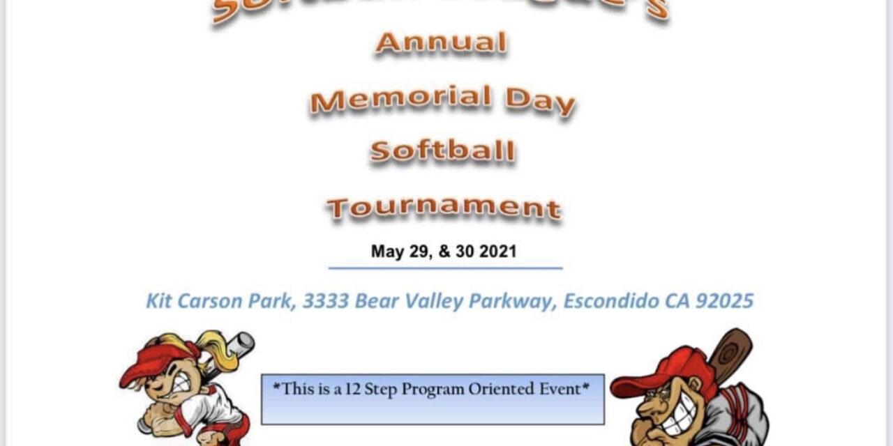 Memorial Day Annual Softball Tournament